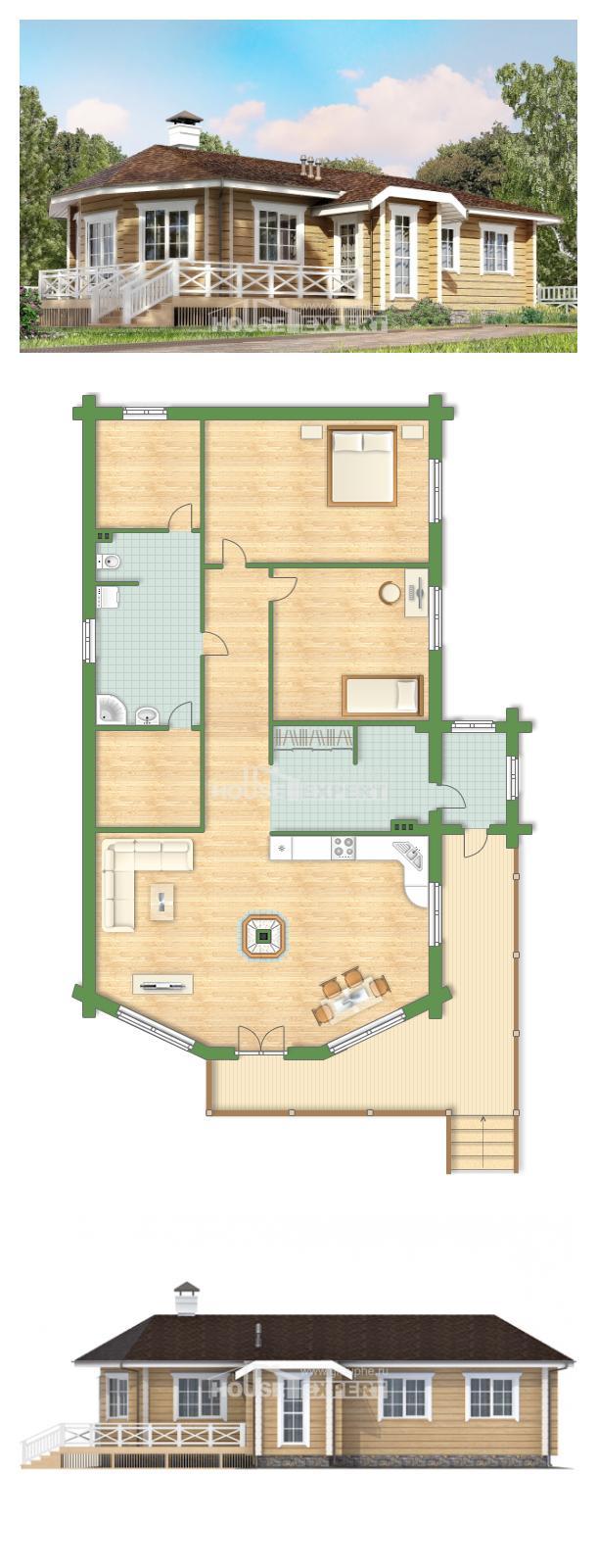 Проект дома 095-001-Л   House Expert