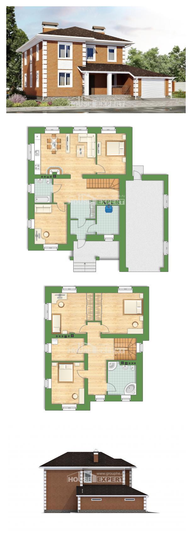 Проект дома 220-004-Л | House Expert