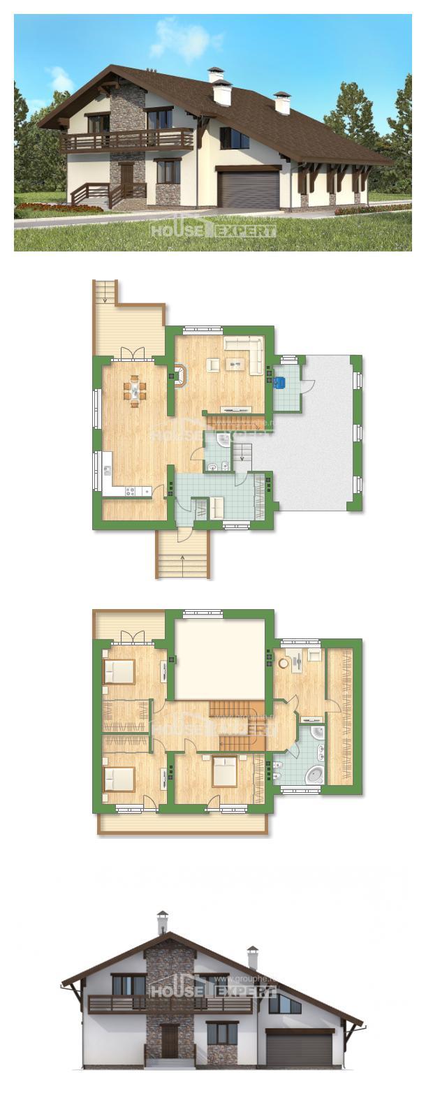 Проект дома 280-001-П | House Expert