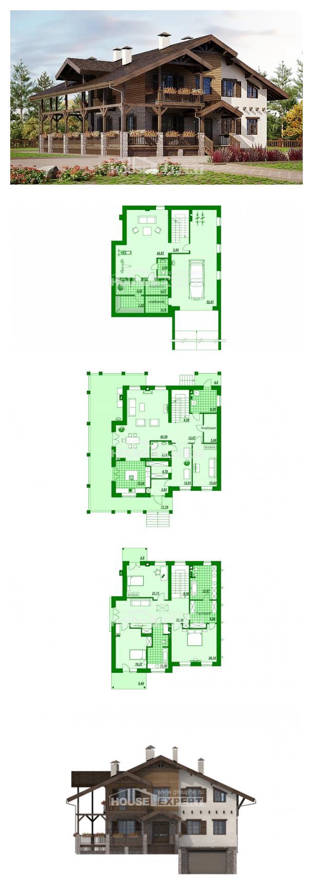 Проект дома 400-004-П | House Expert