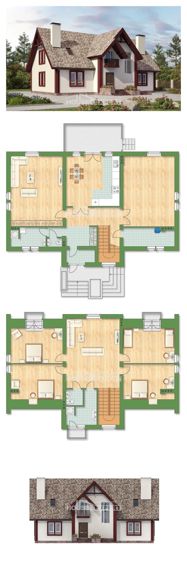Проект дома 300-008-Л | House Expert
