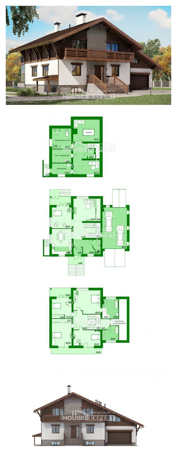 Проект дома 420-001-П   House Expert