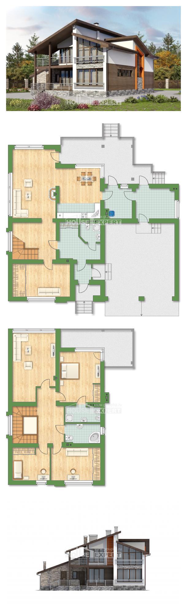 Проект дома 240-004-П | House Expert
