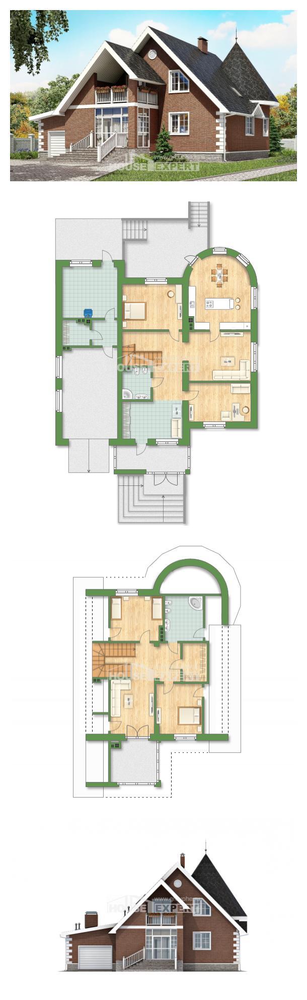 Проект дома 220-002-Л   House Expert