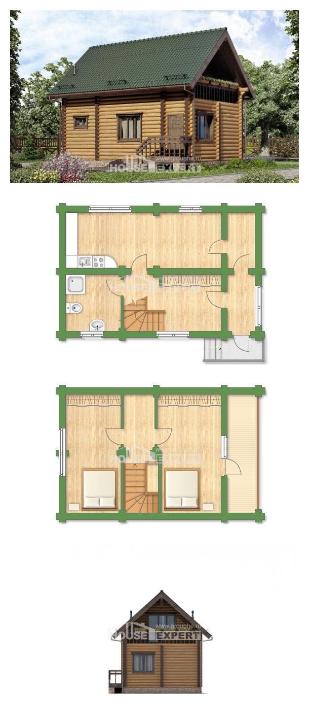Проект дома 080-003-П   House Expert