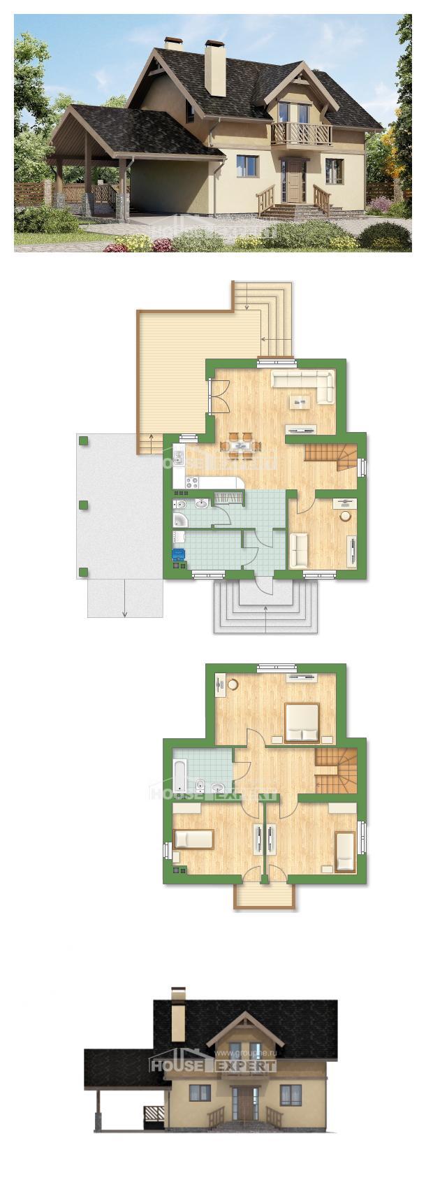Проект дома 150-011-Л   House Expert