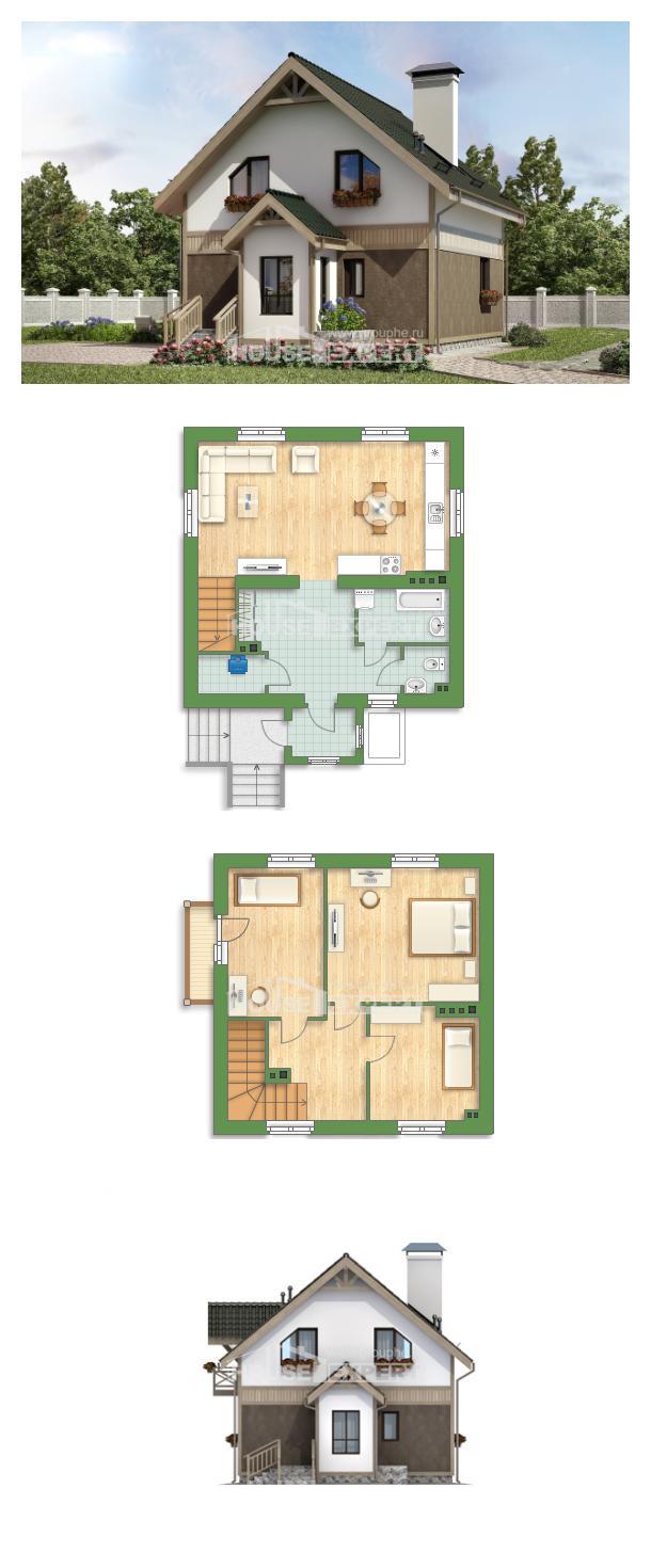 Проект дома 105-001-Л   House Expert